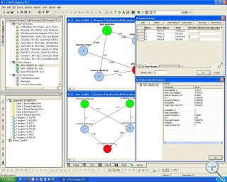 Markov Analysis Software Screen Shot