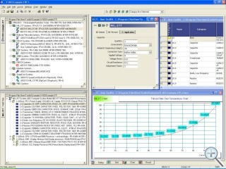 MIL-HDBK-217 Reliability Prediction Software Screen Shot