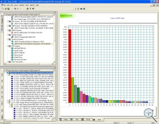 Spares Scaling and Ranging Software Screen Shot